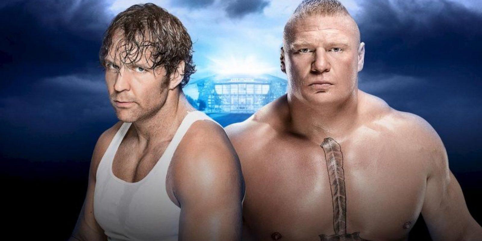 No Holds Barred Street Fight: Dean Ambrose vs. Brock Lesnar Foto:WWE