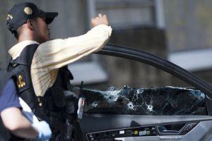 Asesinato del abogado Francisco Palomo Foto:Getty Images