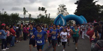 Carrera por el Autismo 2016, en Cayalá, Guatemala