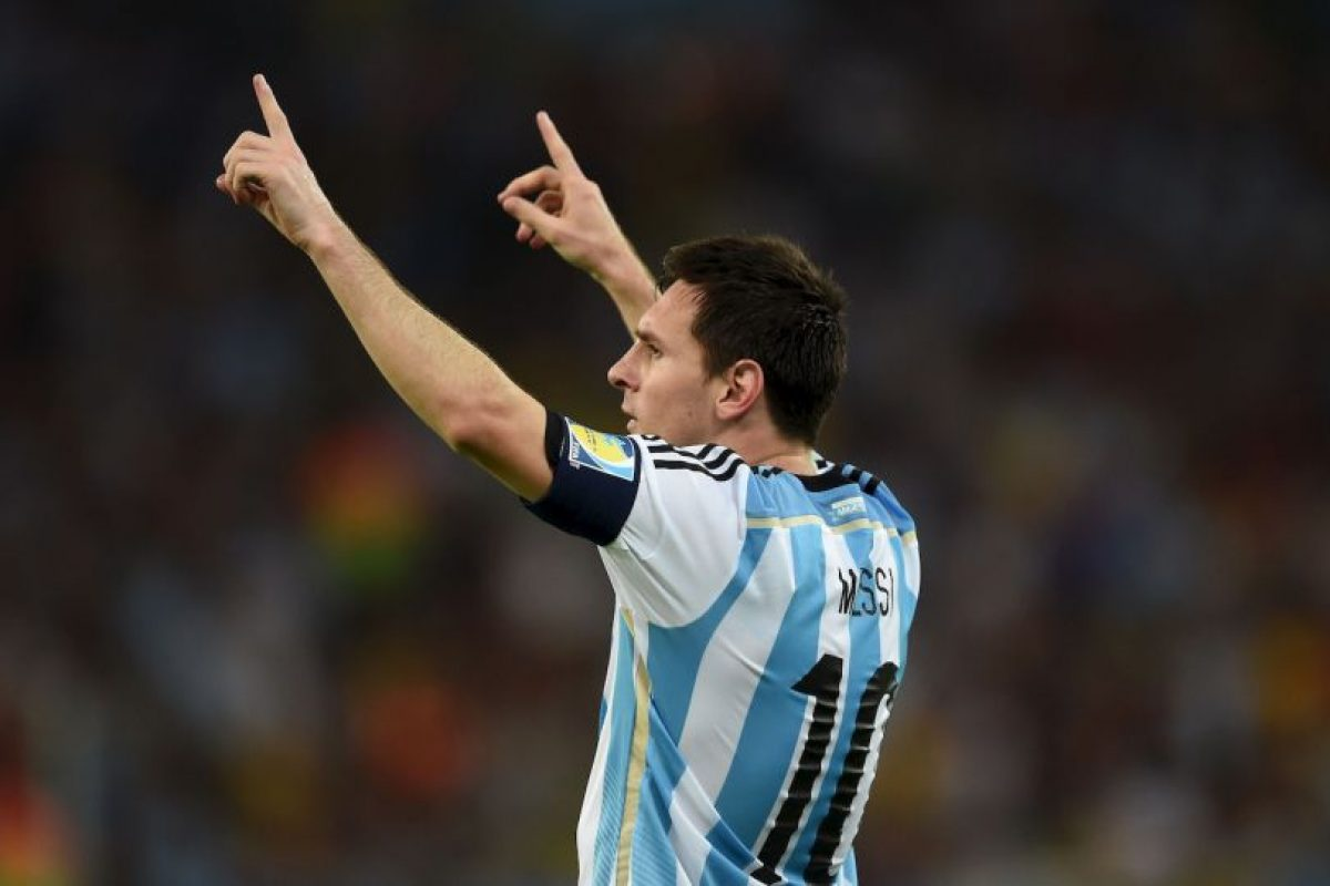 ¿Quién no admira a Lionel Messi? Foto: Getty Images
