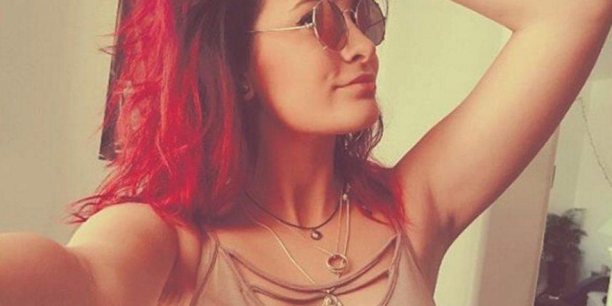 El drástico cambio de look de Paris Jackson... su cabello ahora es naranja