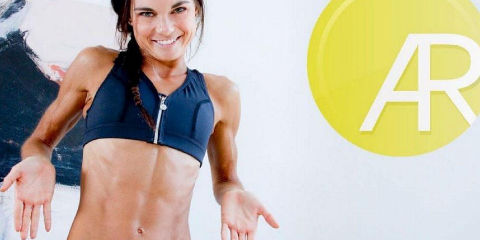 Fundó la página FitStrongAndSexy.com para compartir sus conocimientos de fitness con personas de todo el mundo Foto:Vía instagram.com/amandarussellfss