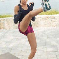De niña y adolescente practicó el running y siempre soñó con ir a los Juegos Olímpicos para competir en atletismo. Foto:Vía instagram.com/amandarussellfss