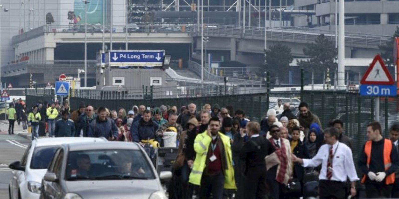 Esto debido a tres explosiones. Foto:vía Getty Images