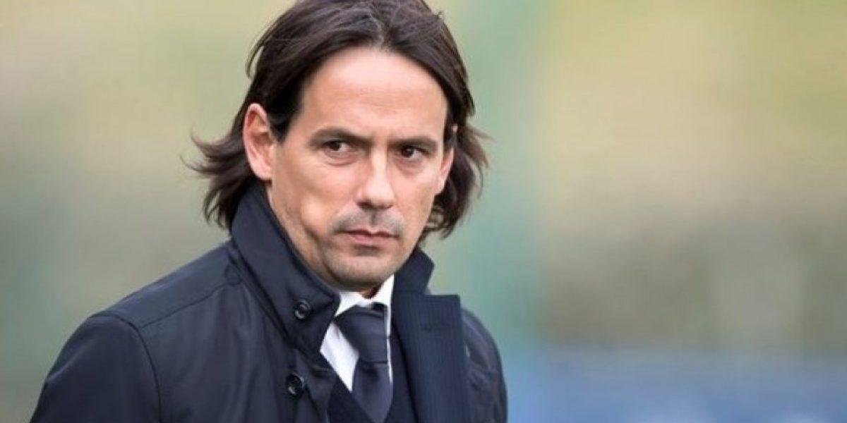 Simone Inzaghi, nuevo entrenador de la Lazio (2016)