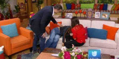 Conductora de Univisión se desmaya en vivo y esta es la razón