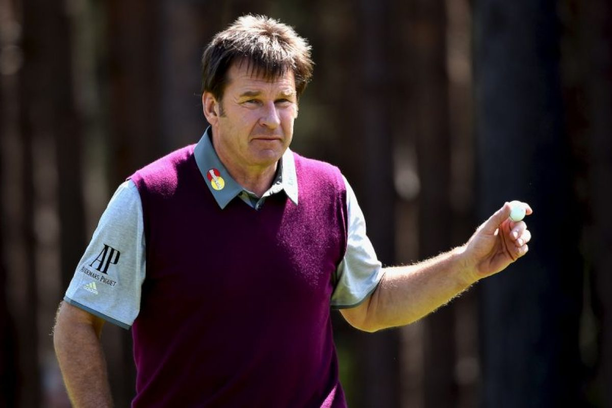 Nick Faldo / Golfista Foto: Getty Images