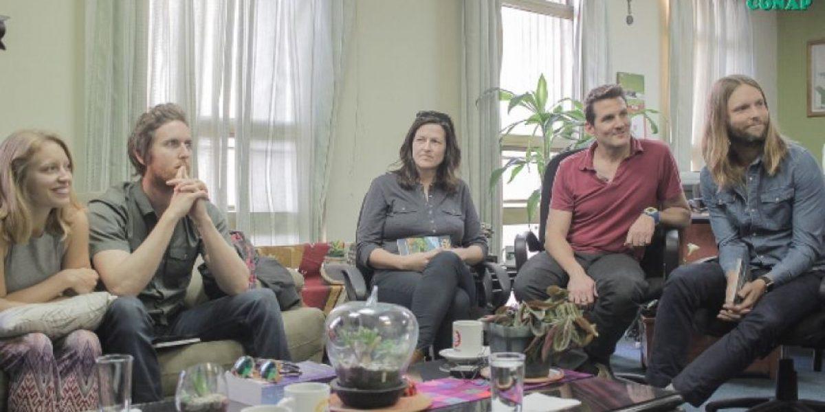 Maroon 5 pide a Jimmy Morales proteger los bosques de la Biósfera Maya