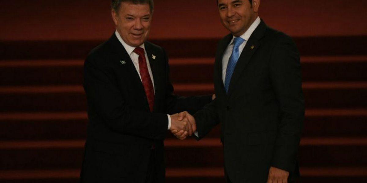 ¿Qué opinan los presidentes de Guatemala y de Colombia acerca de