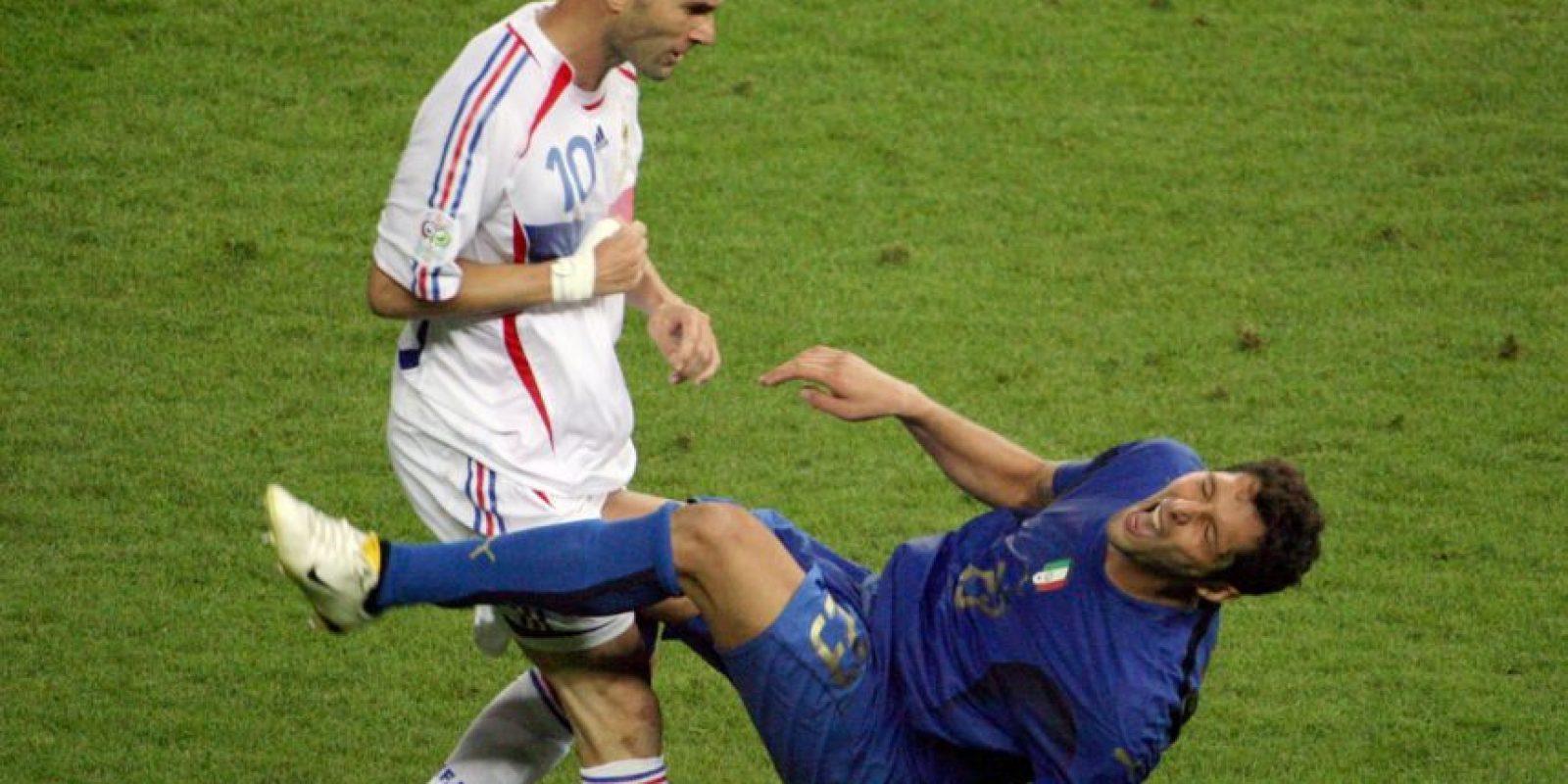 3. Marco Materazzi provocó la furia de Zidane Foto:AFP