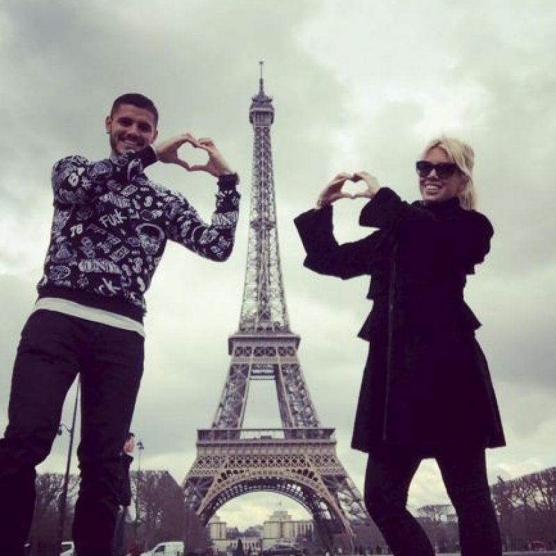 Y Mauro Icardi inició una relación amorosa con ella, a pesar de su amistad con Maxi López. Foto:Vía instagram.com/mauroicardi