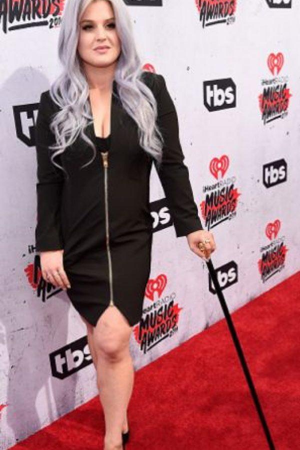 No es lo mejor que le hemos visto a Kelly Osbourne. Foto:vía Getty Images