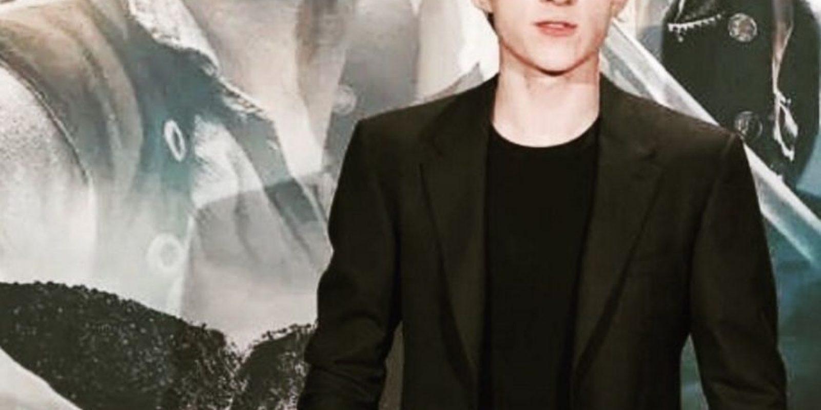 El actor tiene 19 años Foto:Vía instagram.com/tomholland2013