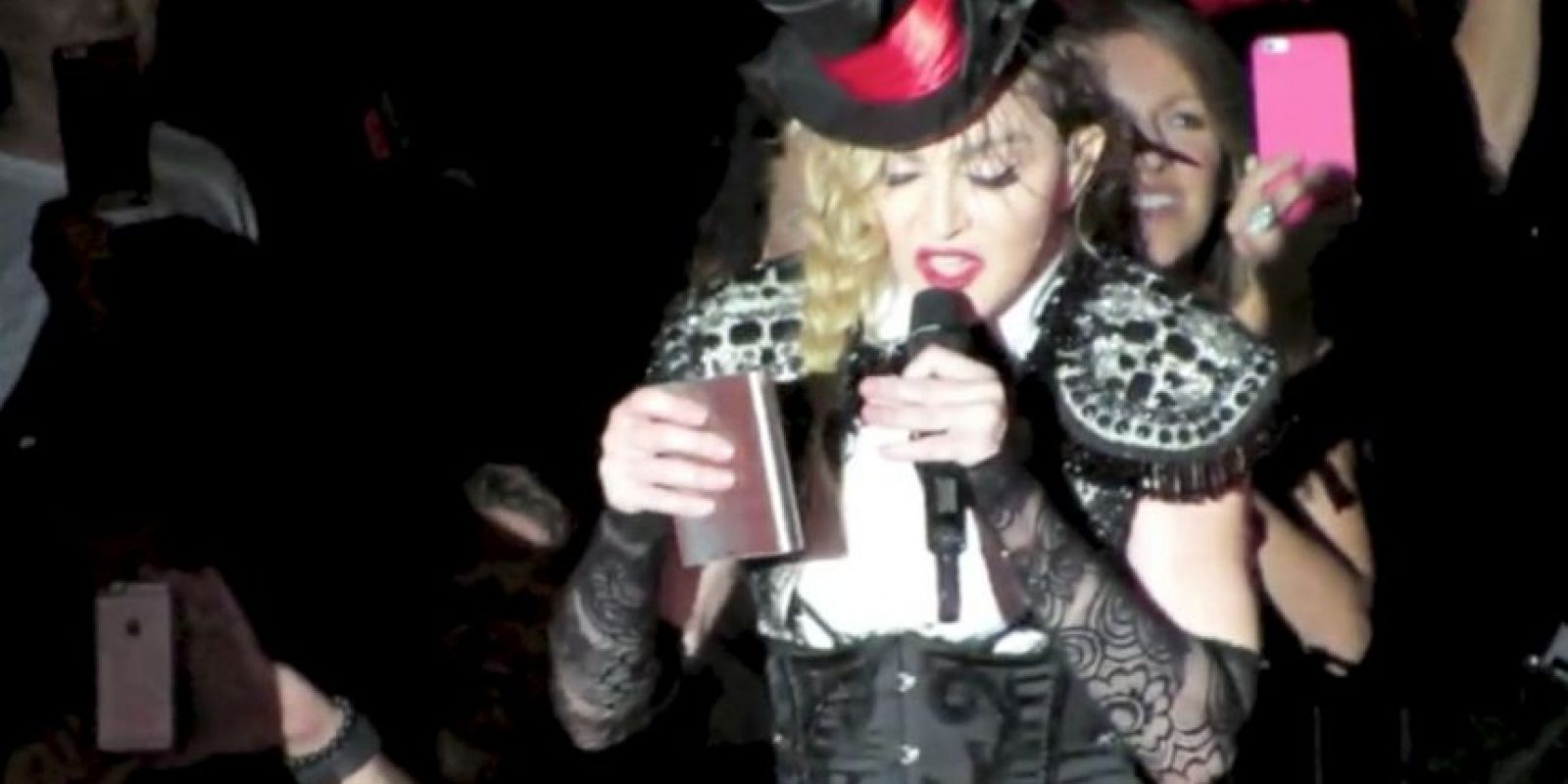 El juicio por la custodia de su hijo Rocco ha tenido a Madonna muy mal anímica y físicamente. Foto:Grosby Group