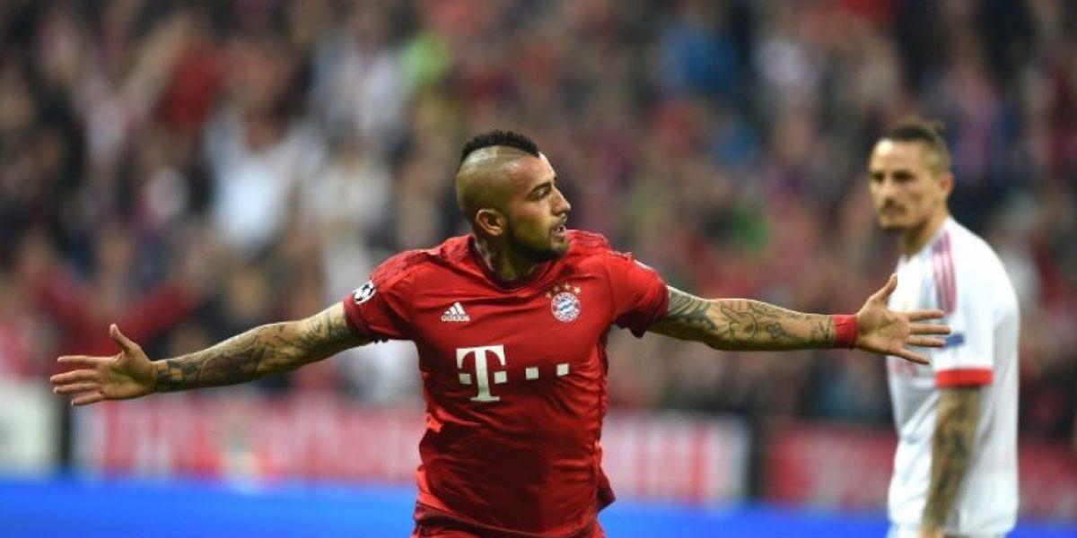 Resultado del partido Bayern Múnich vs Benfica, ida de cuartos de final de la Champions League 2015-2016
