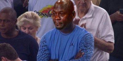 Jordan sufrió la derrota de North Carolina en la final de la NCAA Foto:Twitter