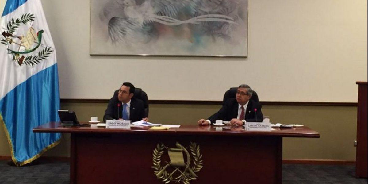 Según Morales, en 70 días de Gobierno, sus funcionarios han sido citados en 271 ocasiones
