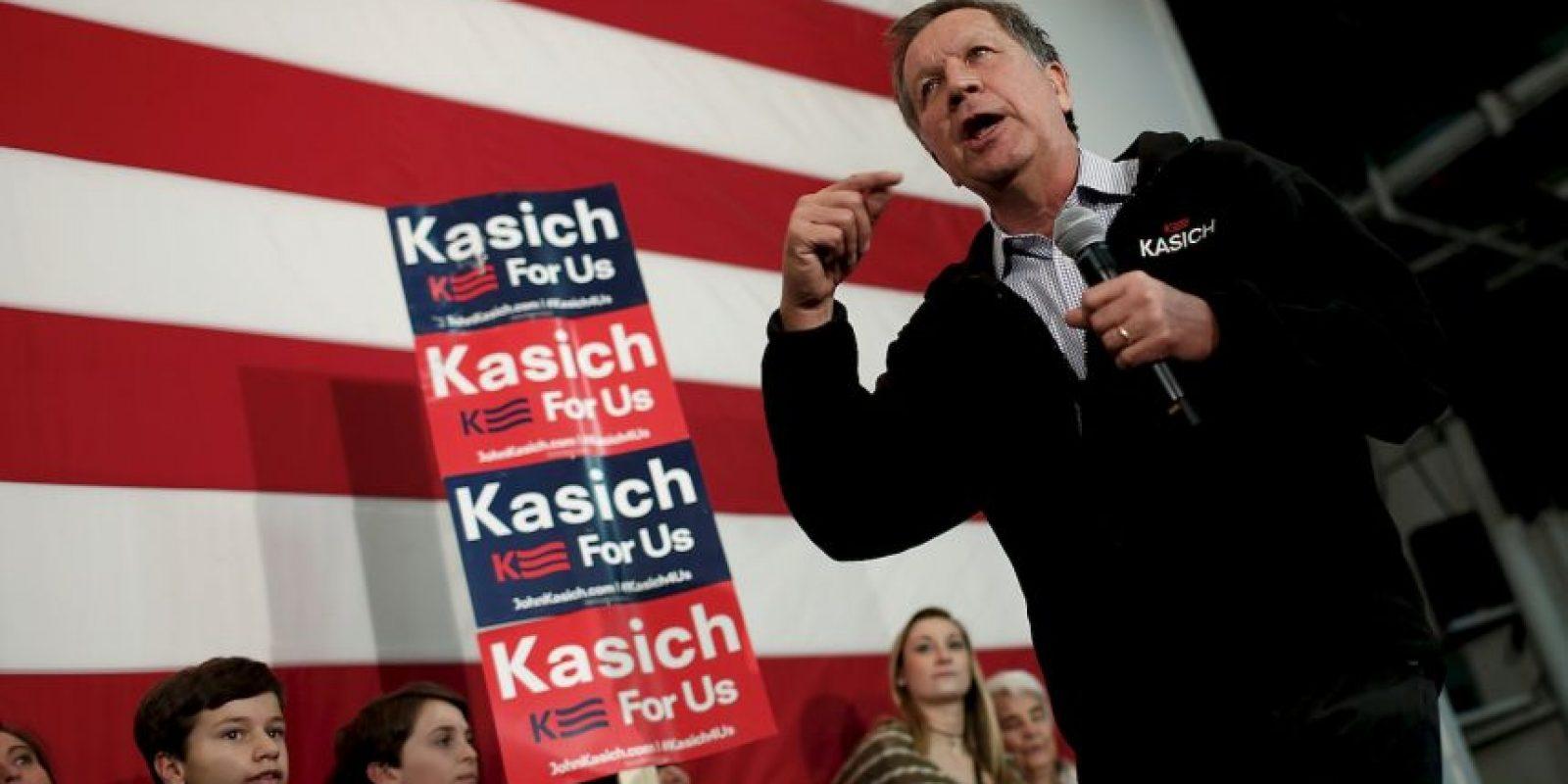 John Kasich: 143 delegados. Foto:Getty Images