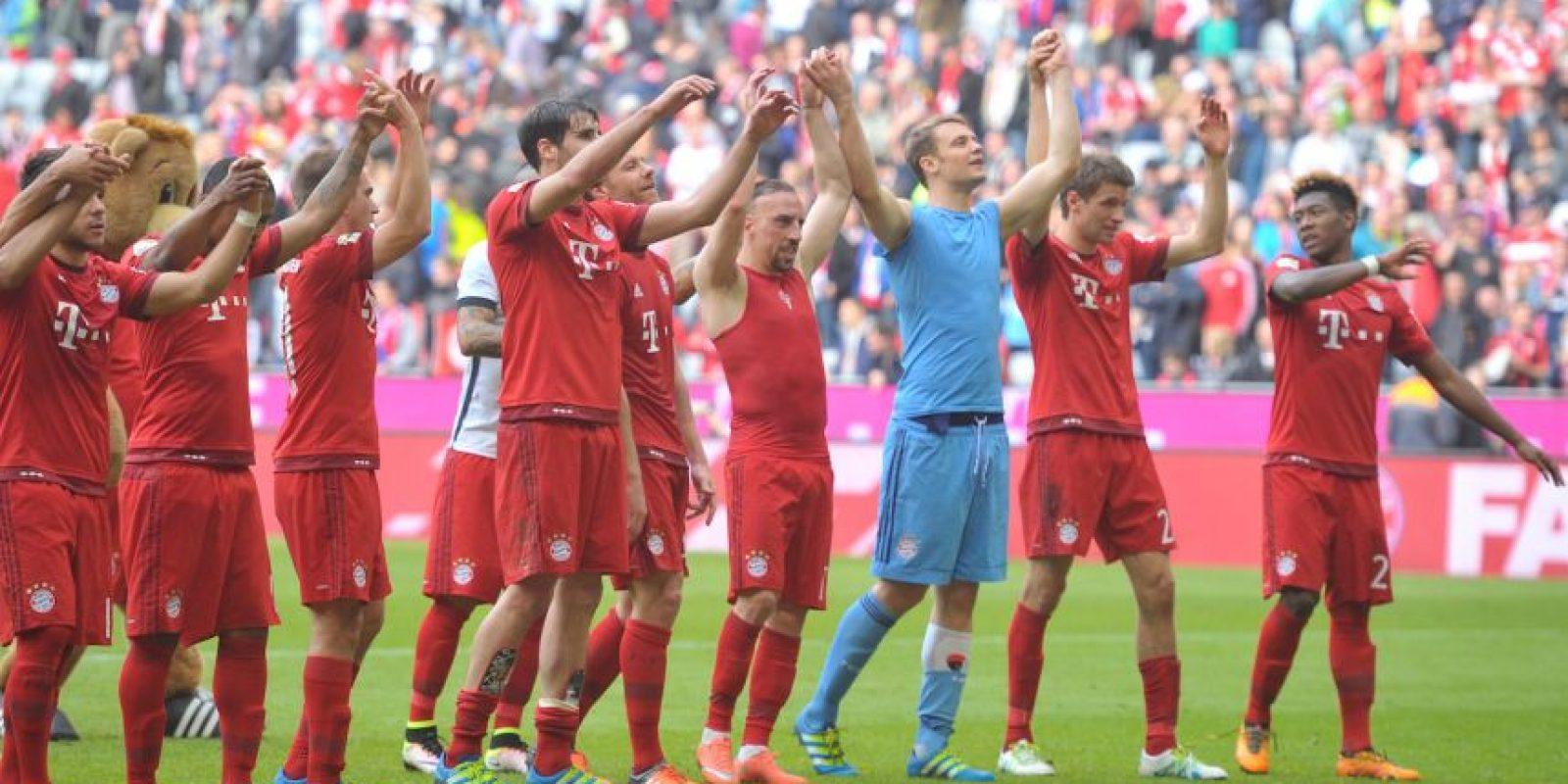 Los bávaros saltan como favoritos para avanzar a las semifinales Foto:Getty Images