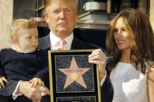 Donald trump y Hollywood Foto: Getty Images