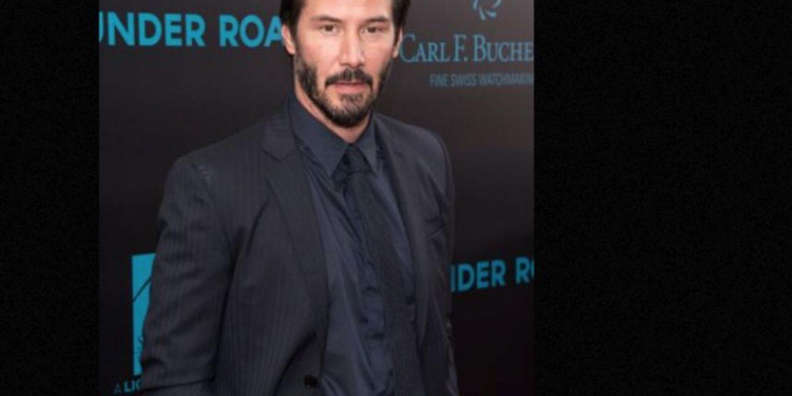 Keanu Reeves tuvo que ver morir de leucemia a su hermano. Su novia perdió a su hijo y murió en un accidente. Foto:vía Getty Images