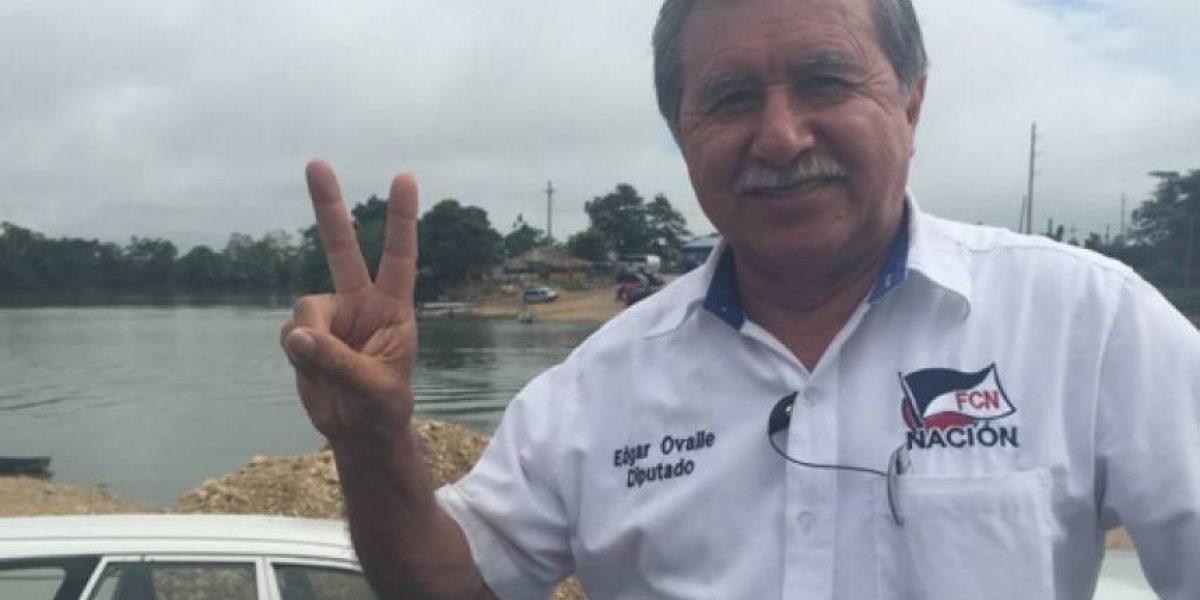 La Corte de Constitucionalidad favorece al diputado oficialista Edgar Ovalle