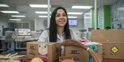 La fundadora de DIDART, Crista Núñez, promueve la cultura artesanal en Guatemala. Foto:Luis Carlos Nájera