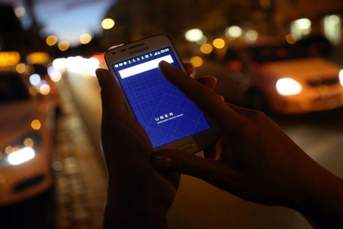 Uber ha sido bien recibido por usuarios de todo el mundo. Foto:Getty Images