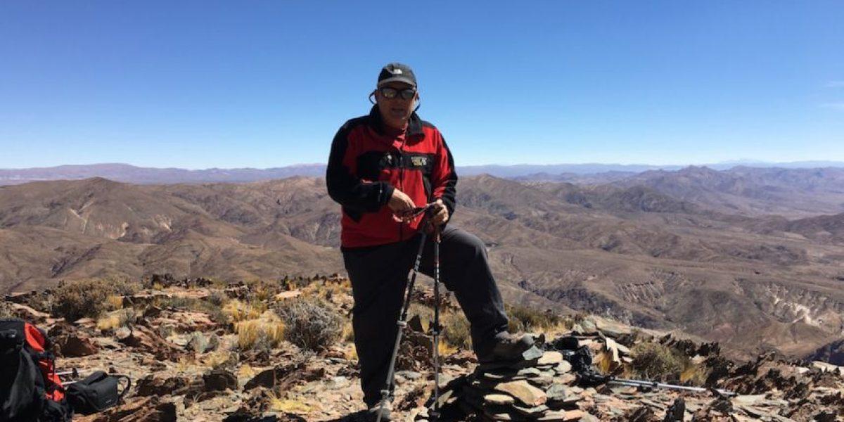 Jaime Viñals cerca de conquistar el volcán Llullaillaco en su reto de escalar los 10 volcanes más altos del planeta