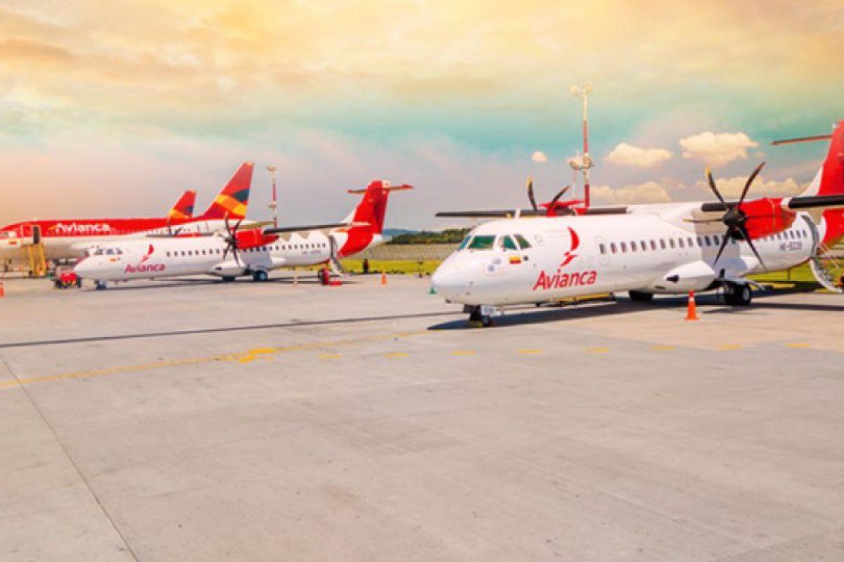 Aviones de Avianca Foto:Facebook