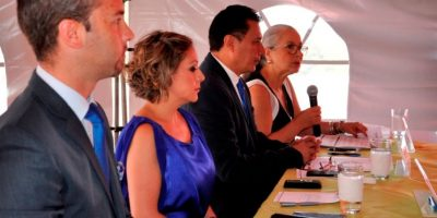 """Lanzamiento del programa """"Descubre Centroamérica"""" Foto:Avianca"""