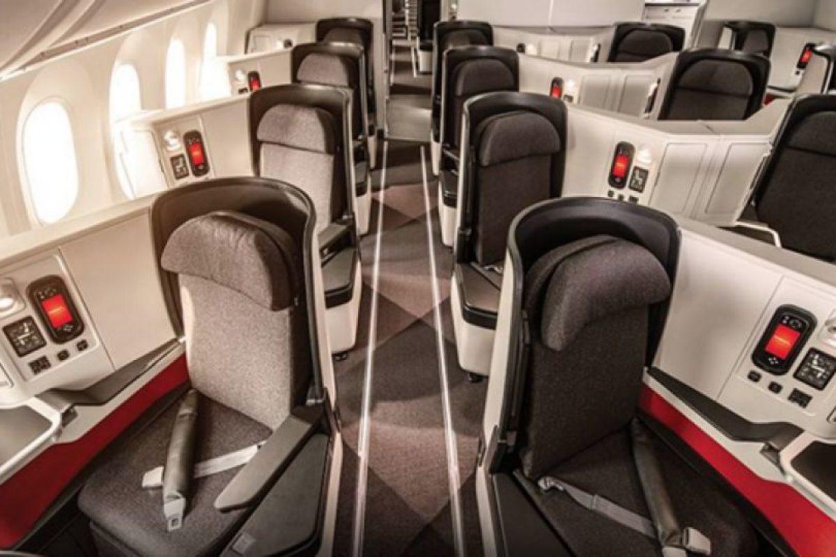 Clase ejecutiva de avión de Avianca Foto:Facebook