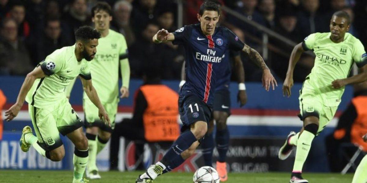 Resultado del partido París Saint-Germain (PSG) vs Manchester City, ida de los cuartos de final de la Champions League 2015-2016