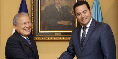 Presidente Jimmy Morales viaja el lunes a El Salvador para hablar sobre la unión aduanera
