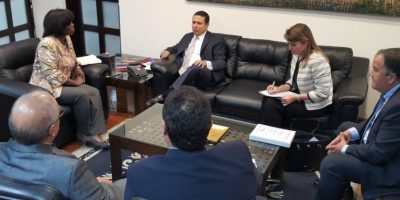 Directora del PMA evalúa la situación  alimentaria en Guatemala