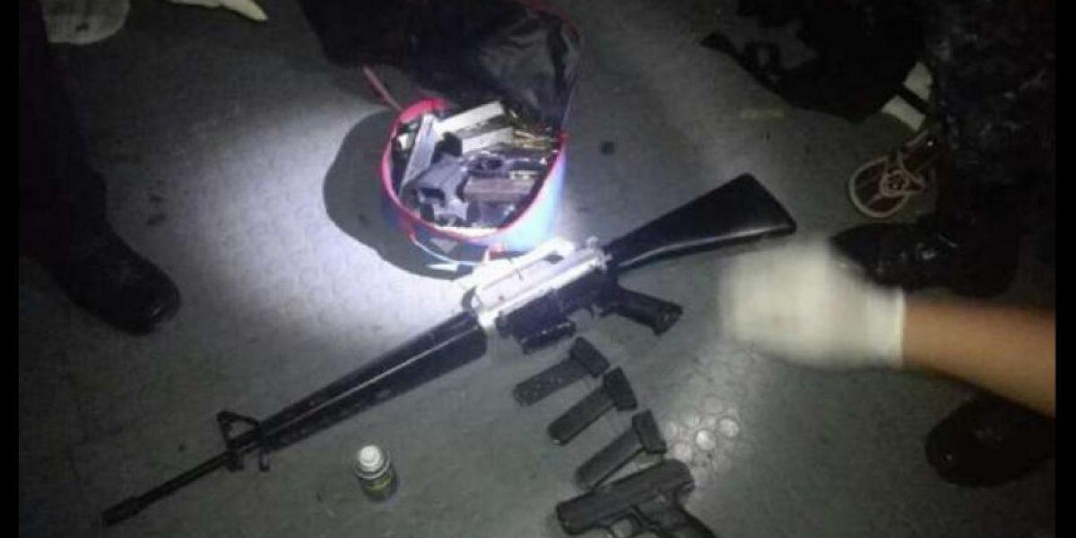 Buscan depósito ilegal de armas en la zona 5