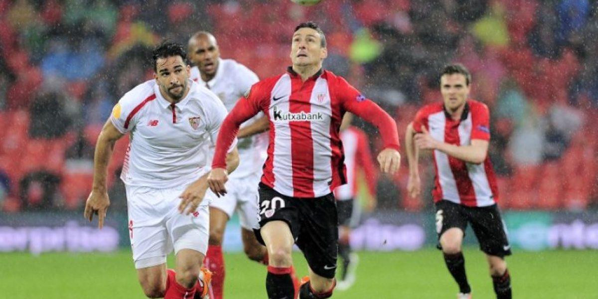 Resultado del partido Athletic de Bilbao vs Sevilla, ida de los cuartos de final de la Europa League 2015-2016
