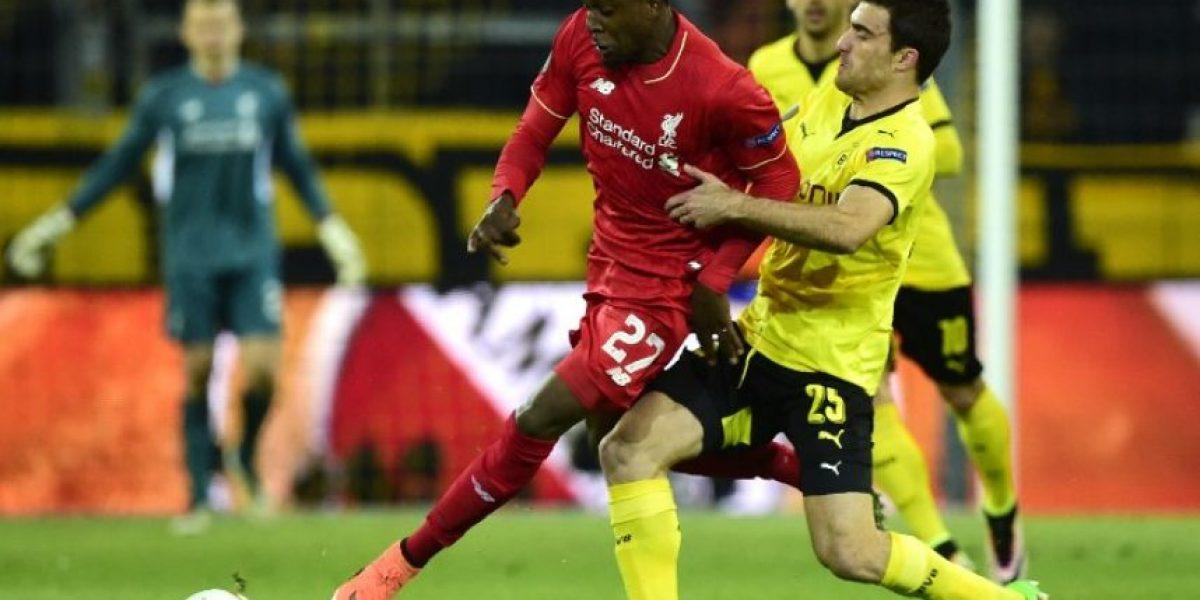 Resultado del partido Borussia Dortmund vs Liverpool, ida de los cuartos de final de la Europa League 2015-2016