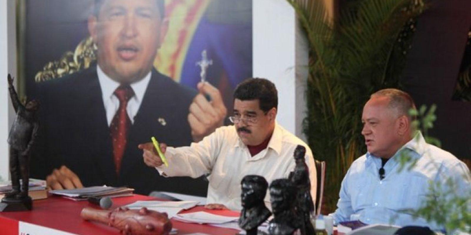 Con lo que Maduro perdió la Asamblea Nacional. Foto:twitter.com/NicolasMaduro