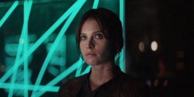 Protagonizado po Felicity Jones. Foto:Star Wars