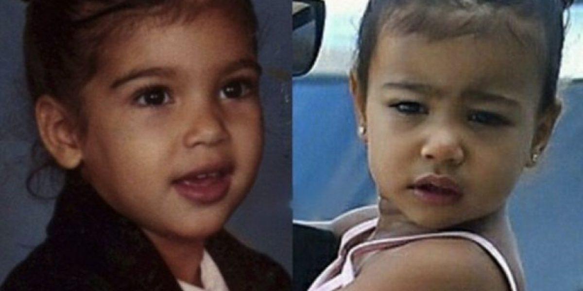A sus 2 años: North West ya usa extensiones de cabello