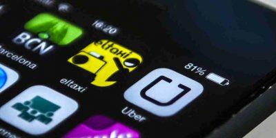 Uber funciona en la mayoría de las más grandes ciudades. Foto:Getty Images