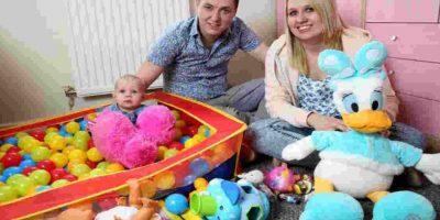 Incluso las pertenencias de su hija fueron robadas. Foto:Facebook