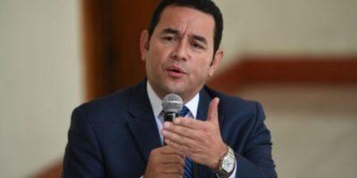 """Jimmy Morales dice a gobernadores que """"no se dejen manipular"""""""
