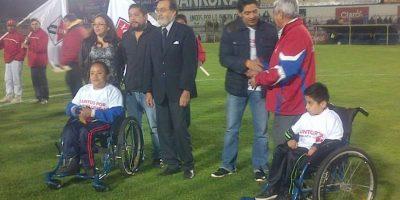 Habilitan espacio para personas discapacitadas en el estadio Mario Camposeco