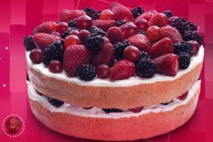 El nuevo pastel Tres Leches Berries Foto:Facebook