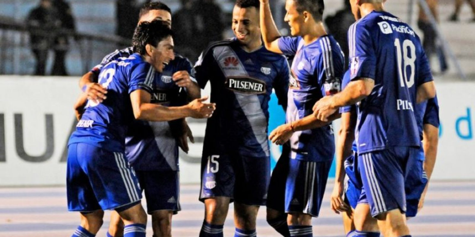 """Mientras que los """"Eléctricos"""" han conquistado 13 ligas de Ecuador Foto:Vía twitter.com/emelec"""
