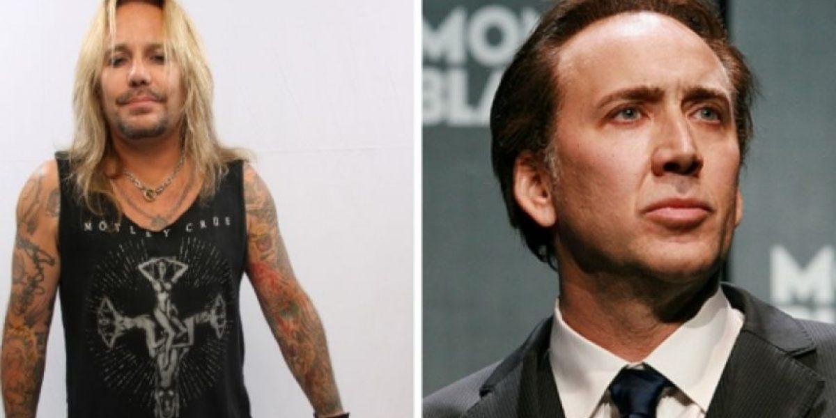 VIDEO. Nicolas Cage pelea por una fan con el cantante de Mötley Crüe