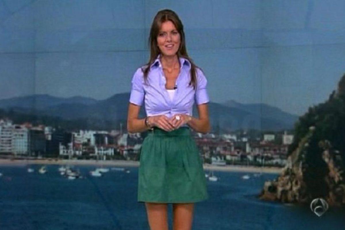 Ejerce desde hace tres años como meteoróloga durante los fines de semana de Antena 3 Foto:Vía facebook.com/himar.gonzalez