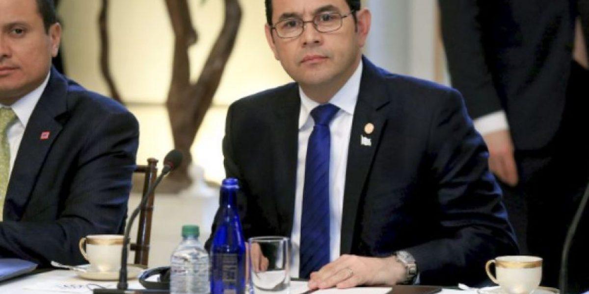 Presidente Jimmy Morales anuncia viaje a El Salvador por este motivo